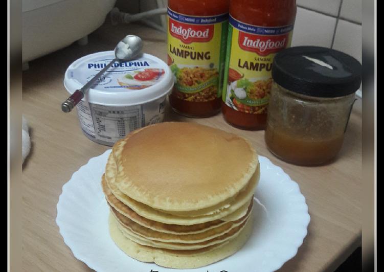Resep Pancake ALa Jepang Alias dorayaki 😂😂😂 Bikin Laper