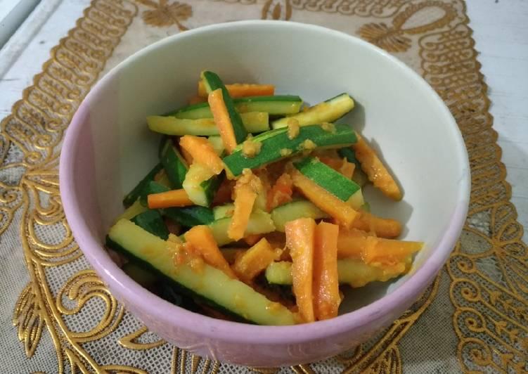 Acar kuning timun wortel