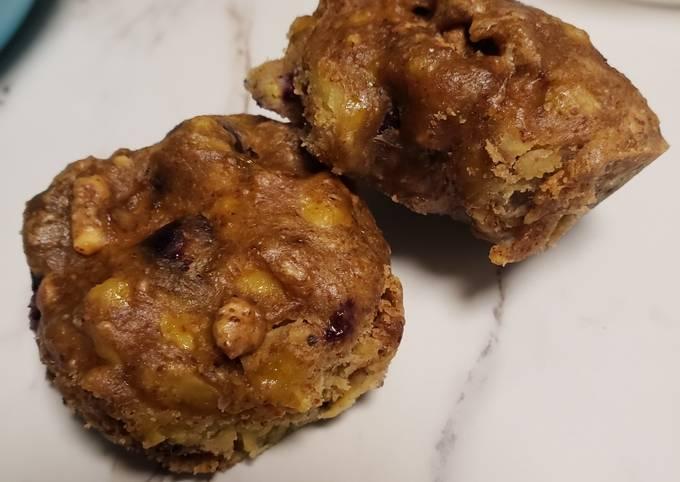 Berry Banana Muffins