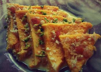 How to Prepare Delicious Mango Shahi Tukda fusion Indian dessert