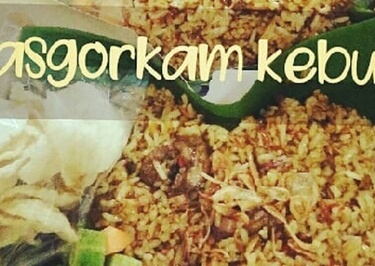 Nasi Goreng Kambing ala Naia's Cafe Bogor