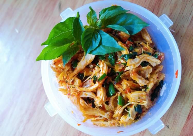 Ayam Suwir Khas Bali