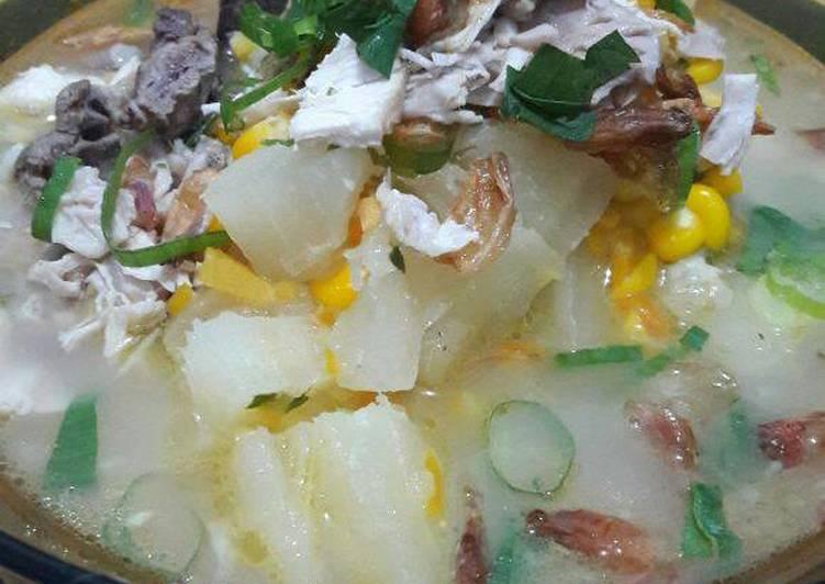 Resep Sup Ubi Sederhana oleh Iin Afriani - Cookpad