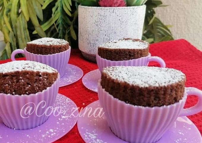 Gâteau au chocolat cuit à la vapeur