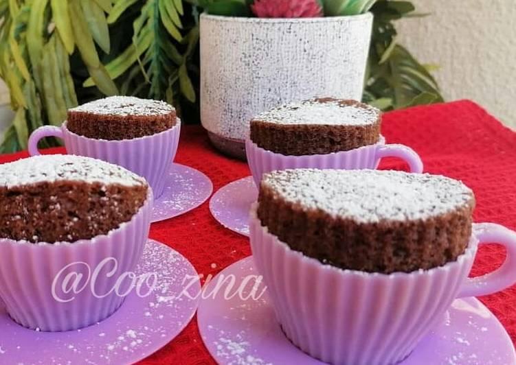 Comment Préparer Les Gâteau au chocolat cuit à la vapeur