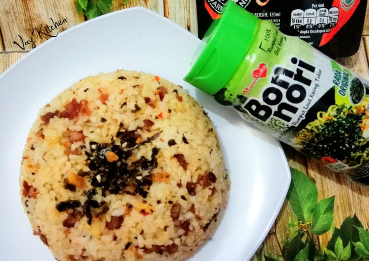 Nasi Goreng Nori Daging Cincang