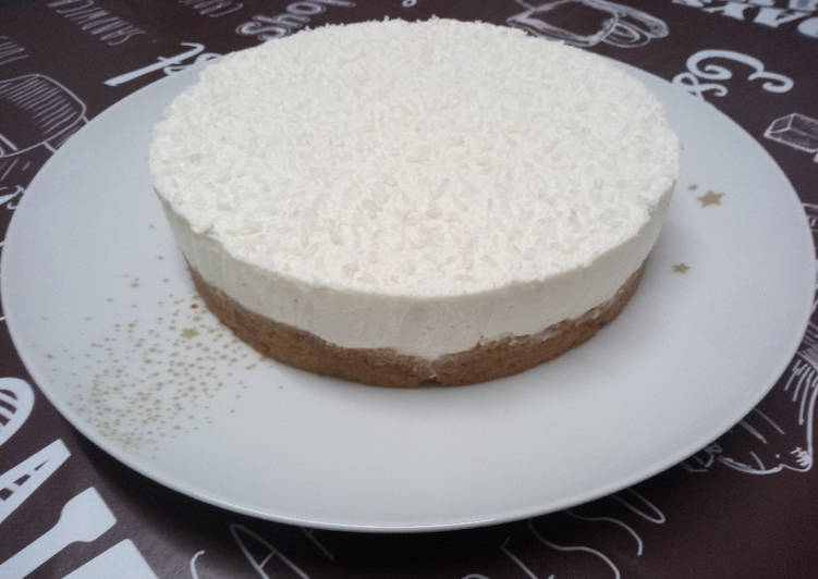 Recette Délicieuse Cheese-cake au yaourt