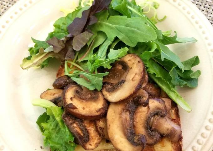 Balsamic Braised Mushrooms