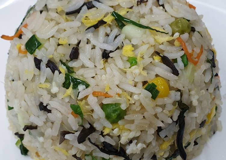 Recipe: Tasty Vegetarian Fried Rice