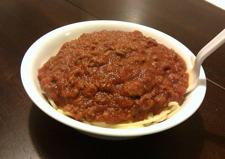 Lonnie's Homemade Spaghetti Sauce