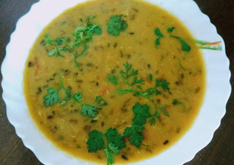 Simple Way to Make Award-winning Mix dal tadka
