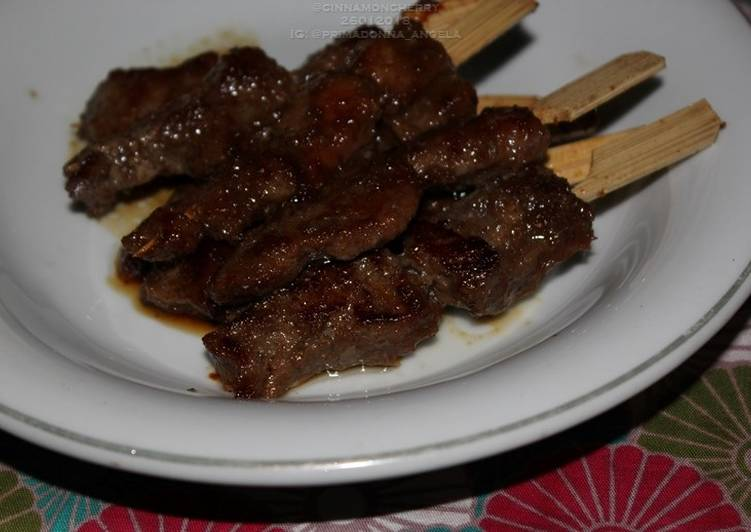Recipe: Tasty Mini Sate Maranggi — Marinated Indonesian Satay