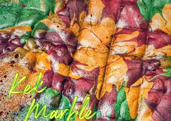 Kek Marble Jelita