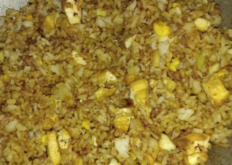 Nasi goreng tanpa bawang merah