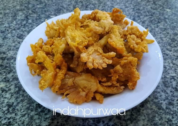 Jamur Tiram Crispy