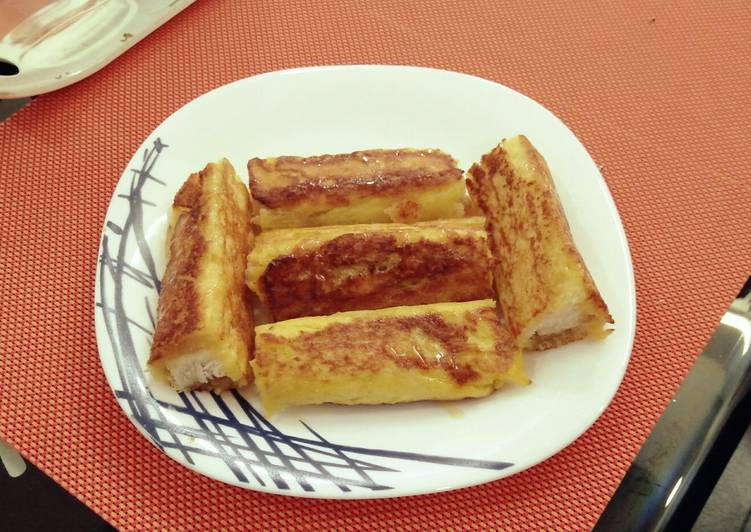 French toast roll