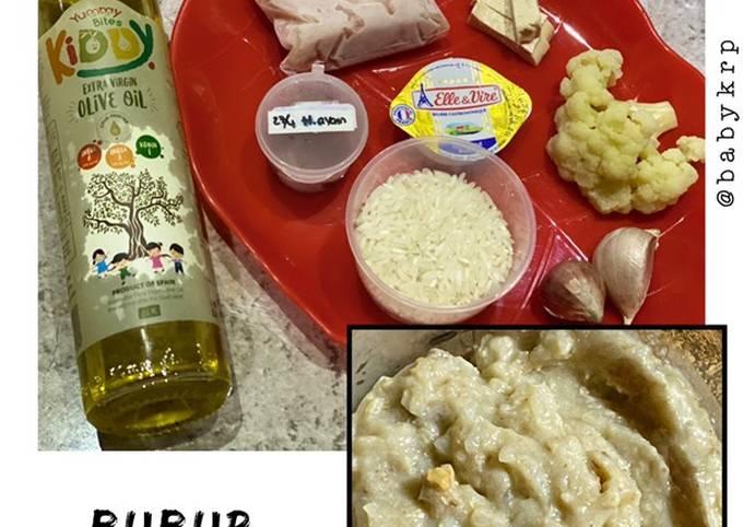 Resep Mpasi 8 bulan: bubur hati & ayam yang lezat dan Mudah Dibuat