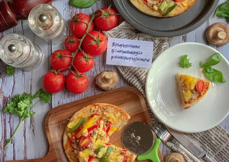 Cara Mudah Masak: Pizza Homemade Simple