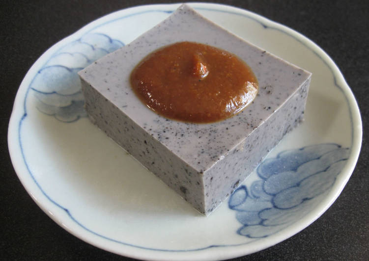 Recipe of Homemade Sesame Tofu
