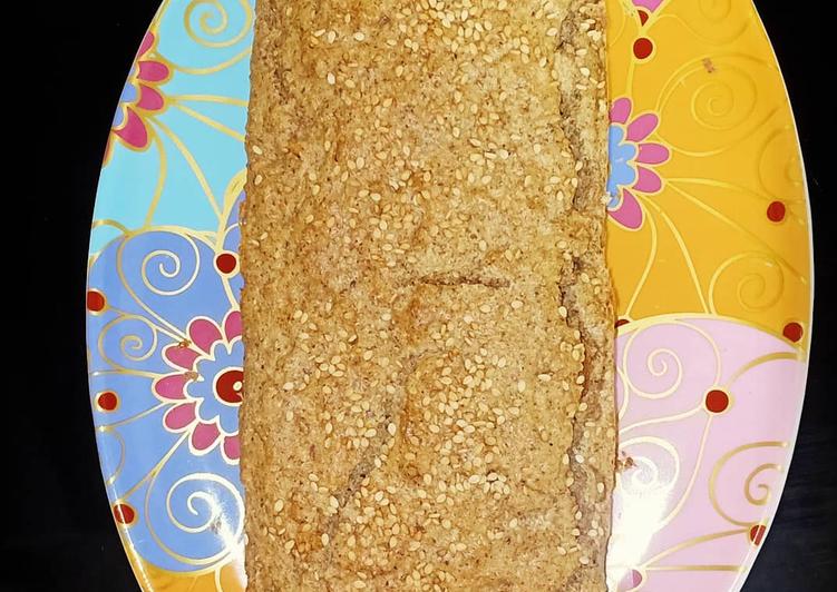 Pan de sésamo y lino sin gluten/keto/low carb/Paleo