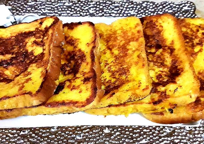 French toast (cake slice)