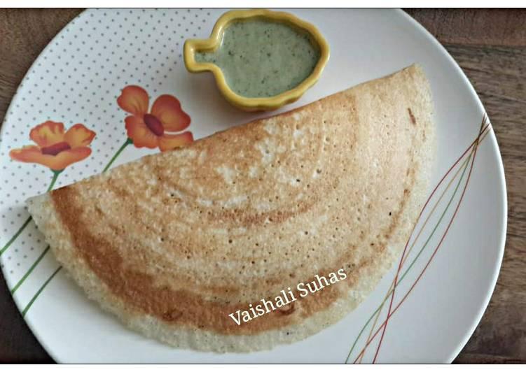 Simple Way to Make Award-winning Ragi Millet Dosa (Ragi Dose)