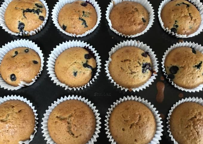 How to Cook Perfect Blueberry muffins
