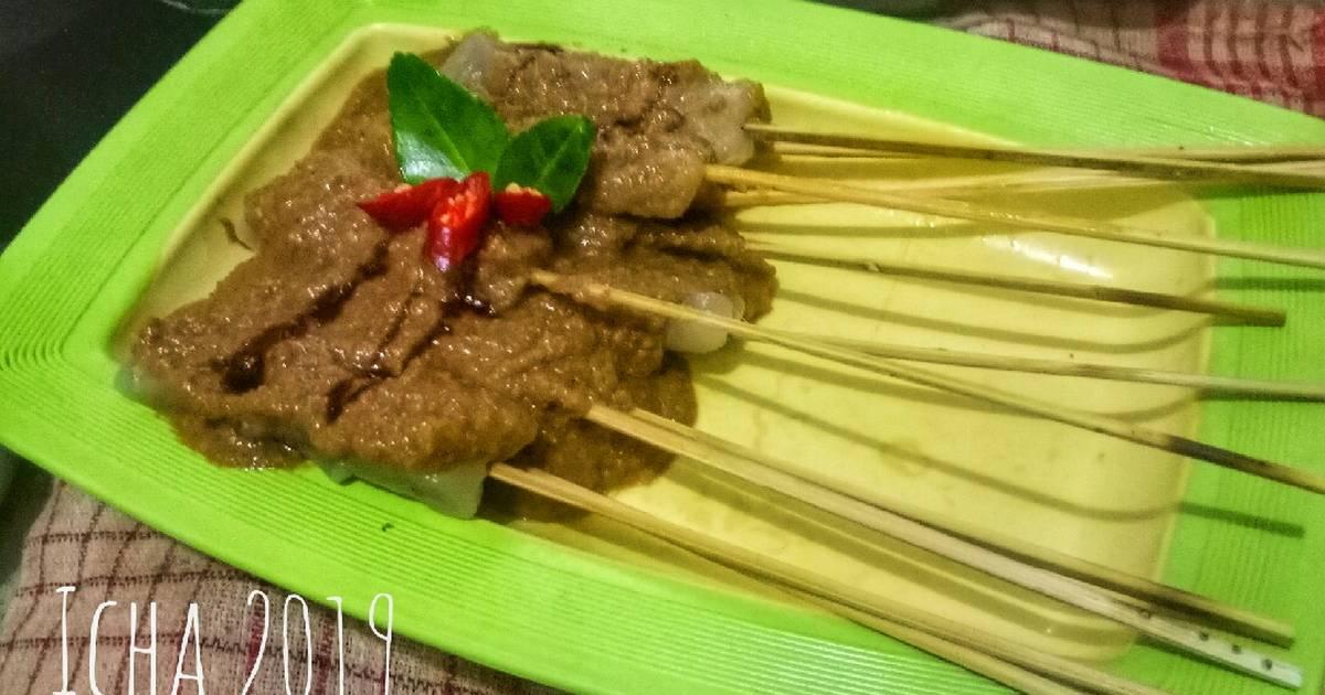 Resep Sate Aci bumbu kacang oleh Icha Annisa Septiana - Cookpad