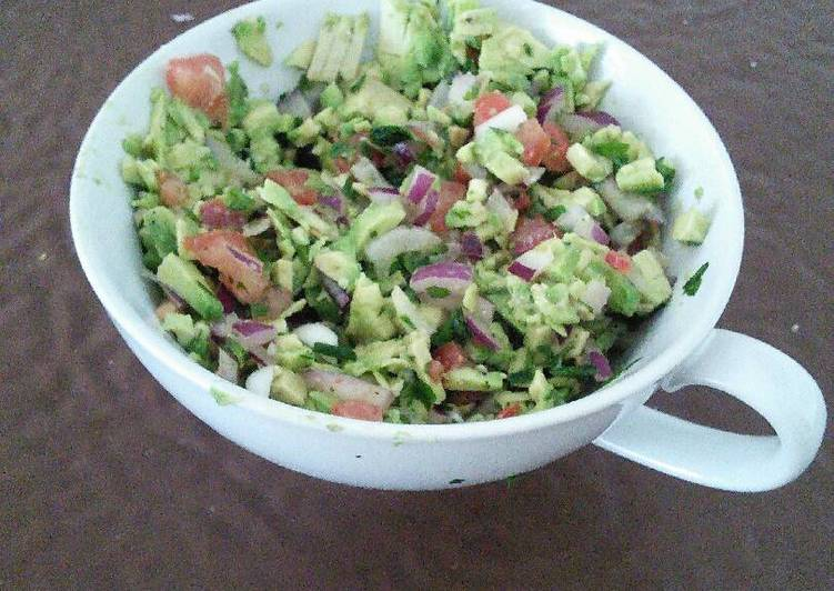 Easiest Way to Prepare Quick Guacamole De Verdad