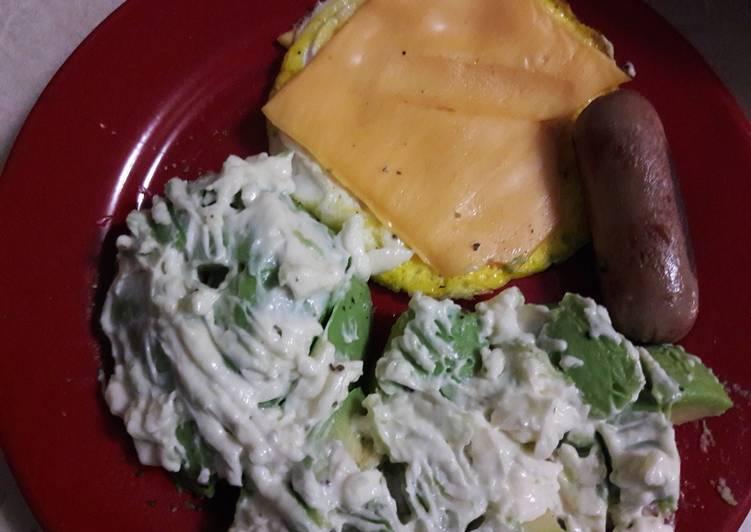 Resep Telur dadar (menu sarapan low carb) #ketofriendly Paling dicari