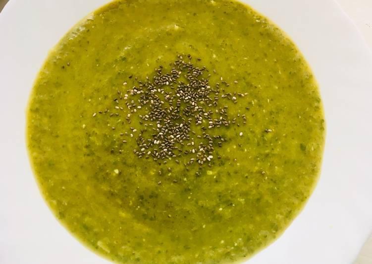 Crema verde depurativa (cenas ligeras y sanas)