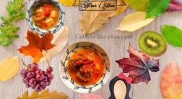 Hình ảnh món Đậu hủ nấu ngót Cá chim kho chua ngọt