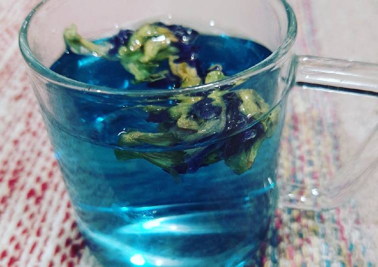 10 Minute Step-by-Step Guide to Make Vegan Butterfly pea tea
