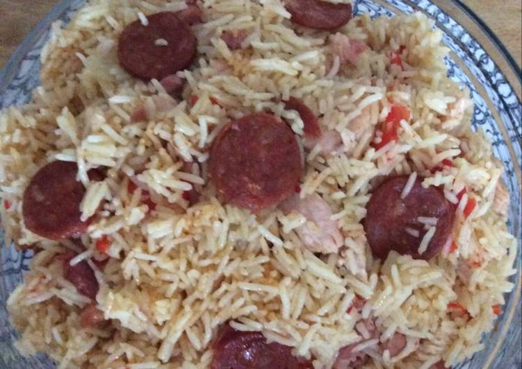 Easiest Way to Make Delicious Riz au chorizo