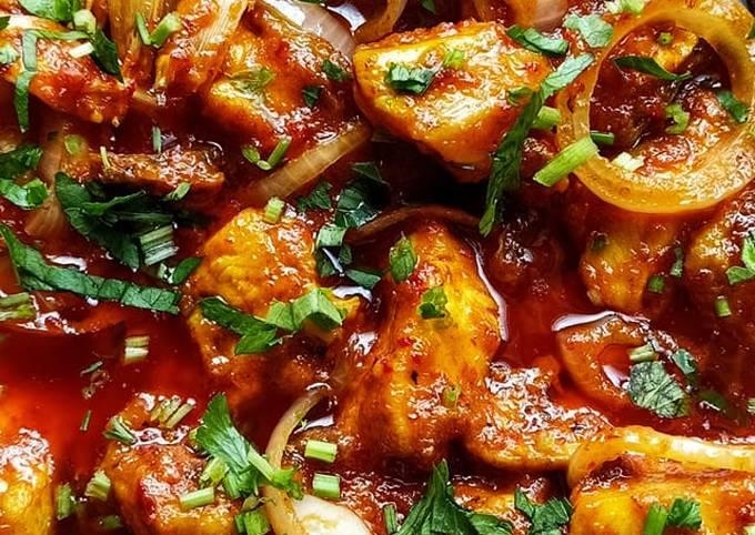 """""""ayam masak merah bersantan"""" #chefZam"""