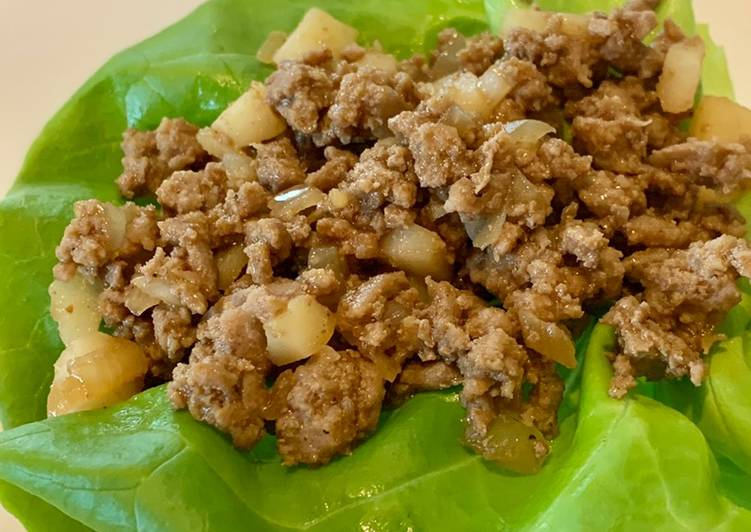 Easiest Way to Prepare Delicious Turkey Lettuce Wrap