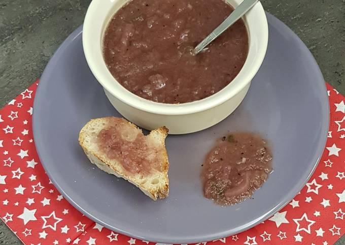 Chutney aux poires et au vin rouge (thermomix)
