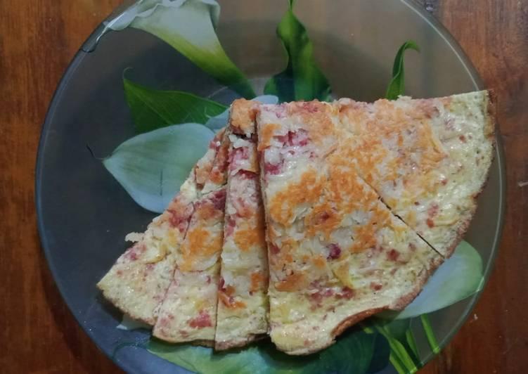 5. Omelet Kornet Keju (OKK)👍