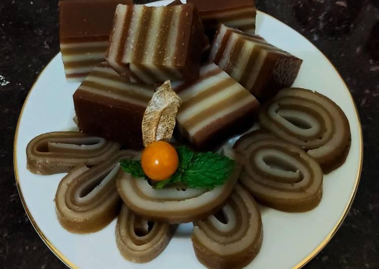 Kue Lapis Coklat Mochaccino