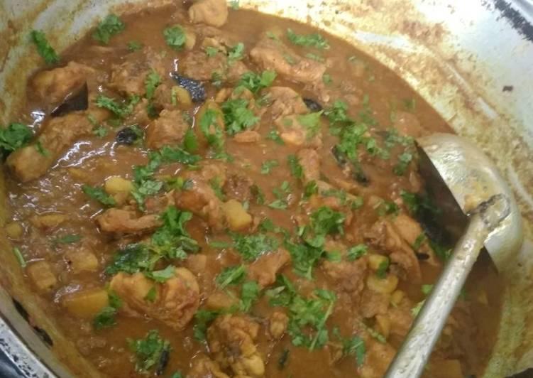Murgir jhol(chicken curry)