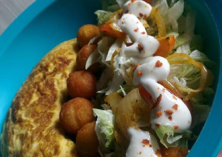Resep Omelet bola kentang Top