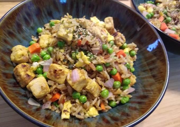 Vegetarian Chicken Fried Rice