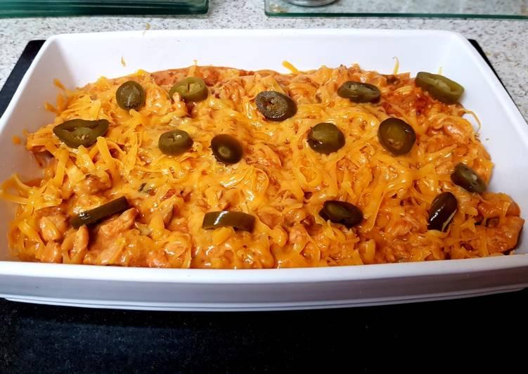 Recipe of Homemade My Chicken Salsa Dish 😘