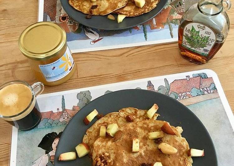 Pancakes à la farine d'avoine