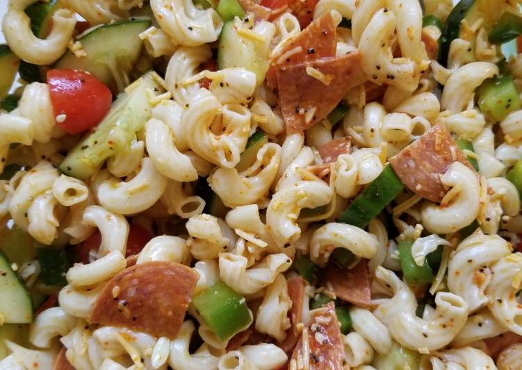 Recipe of Quick Italian summer pasta salad