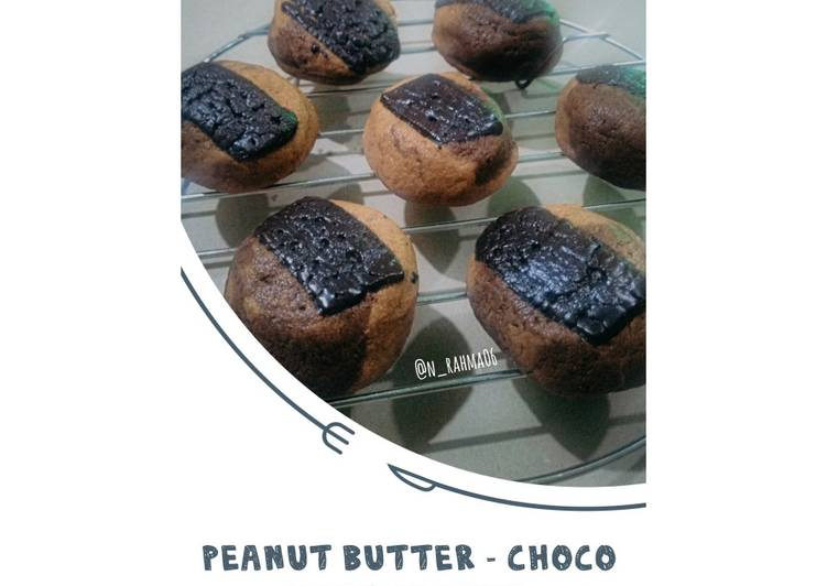 Peanut Butter - Choco Soft Cookies