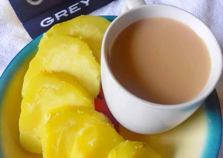 Sweet Potatoes and Cardamom Tea