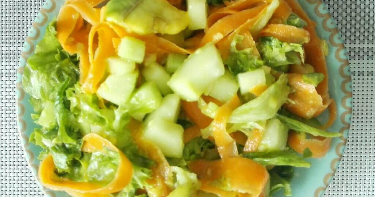 Ensalada De Aguacate Zanahoria Y Pepino Cohombro Receta De Johanna Onlyhomely En Instagram Cookpad Preparación de la ensalada de tomate y zanahorias. ensalada de aguacate zanahoria y pepino cohombro