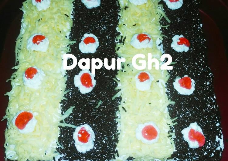 Cake Coklat kukus By #DapurGh2