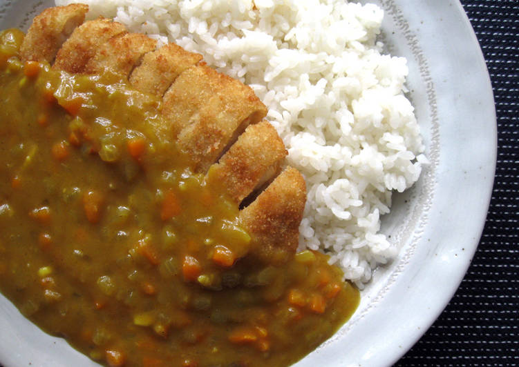 Easiest Way to Make Yummy Chicken Katsu Curry